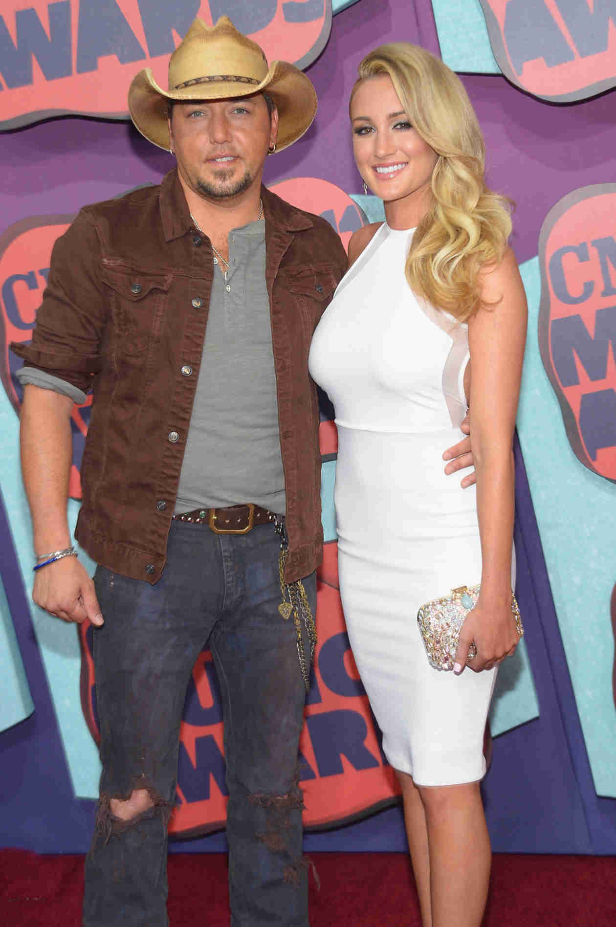 "Jason Aldean Is ""So Sick of People Judging Me and Brittany Kerr"" Two Years After Scandal"