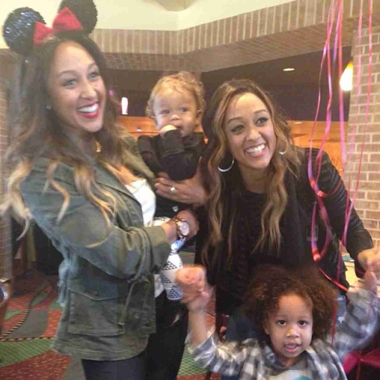 "Tamera Mowry to Internet Trolls Hating on Tia Mowry's Son: ""Don't Mess With My Nephew"""