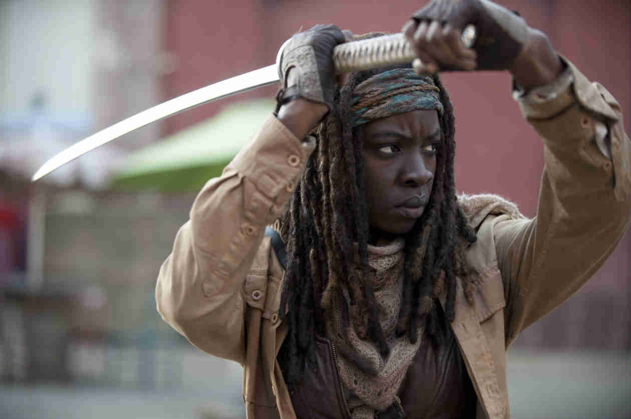 "The Walking Dead Season 5: Michonne Is ""More Ferocious, Like a Lioness"""