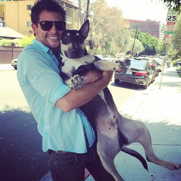 Here's That Photo of Brant Daugherty and His Dog You Always Wanted (PHOTO)