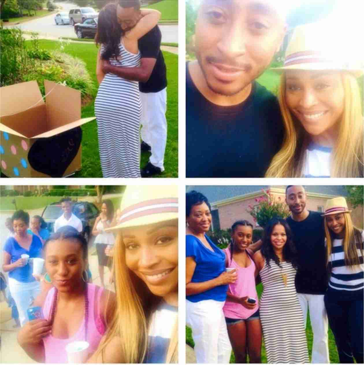 Cynthia Bailey's Family Prepares For a New Addition