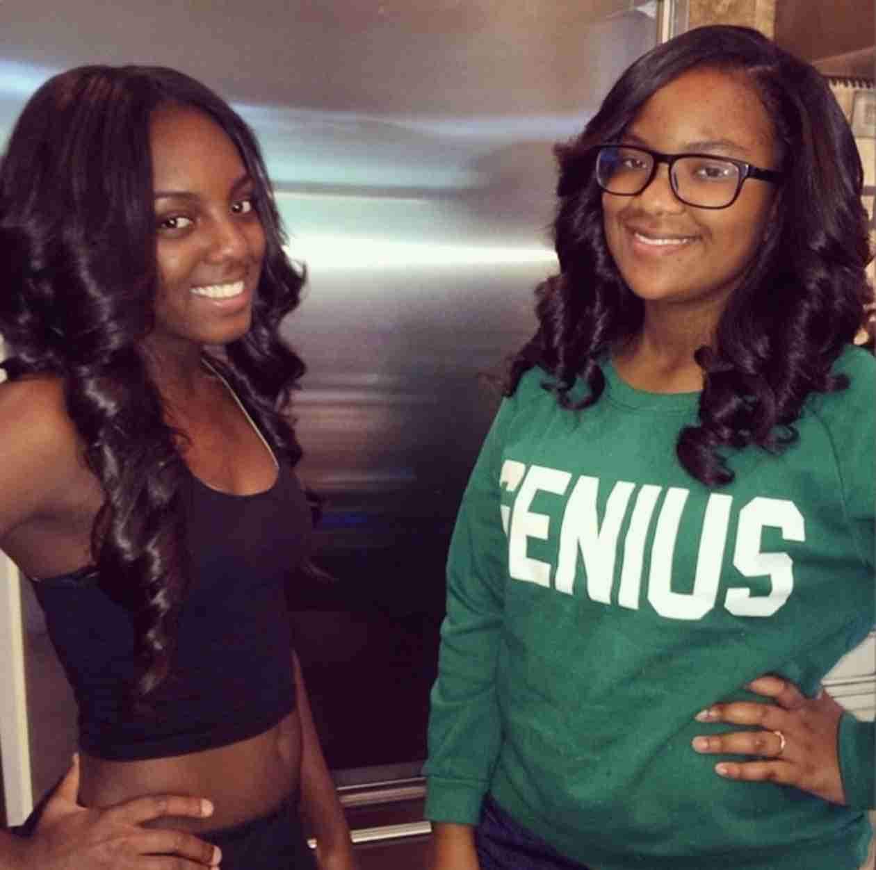 Kandi Burruss' Daughters, Riley and Kaela, Get New Hairstyles (PHOTO)