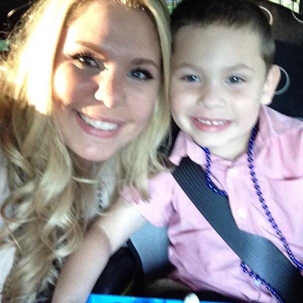Kailyn Lowry and Son Isaac Take the ALS Ice Bucket Challenge! (VIDEO)