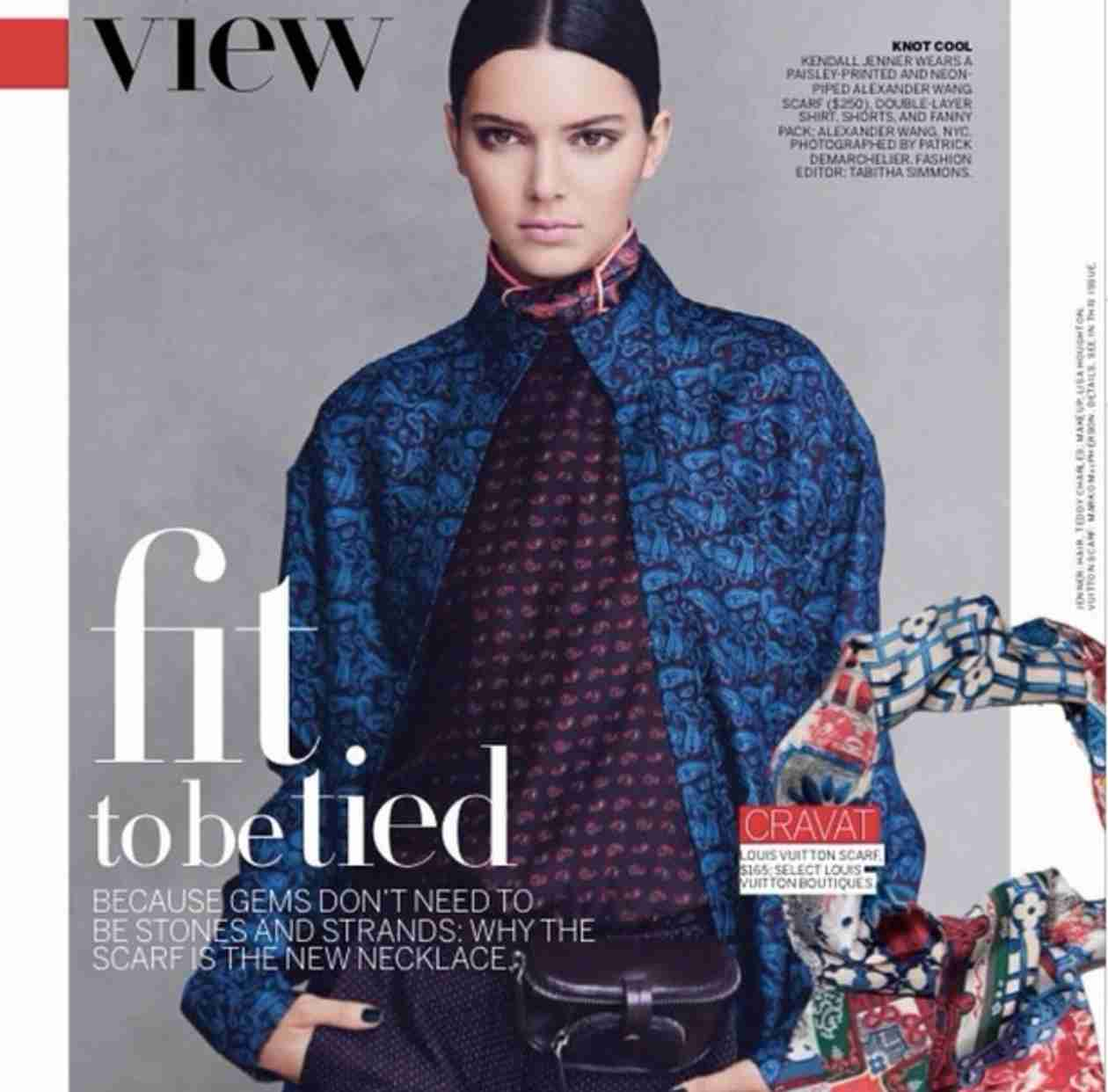 Kendall Jenner Wows in First Photos For Vogue Magazine