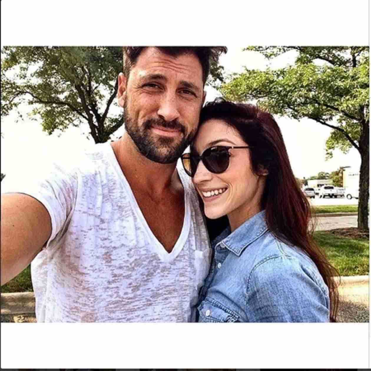 Maksim Chmerkovskiy, Meryl Davis Pose for Sexy Photo — Are They Dating?