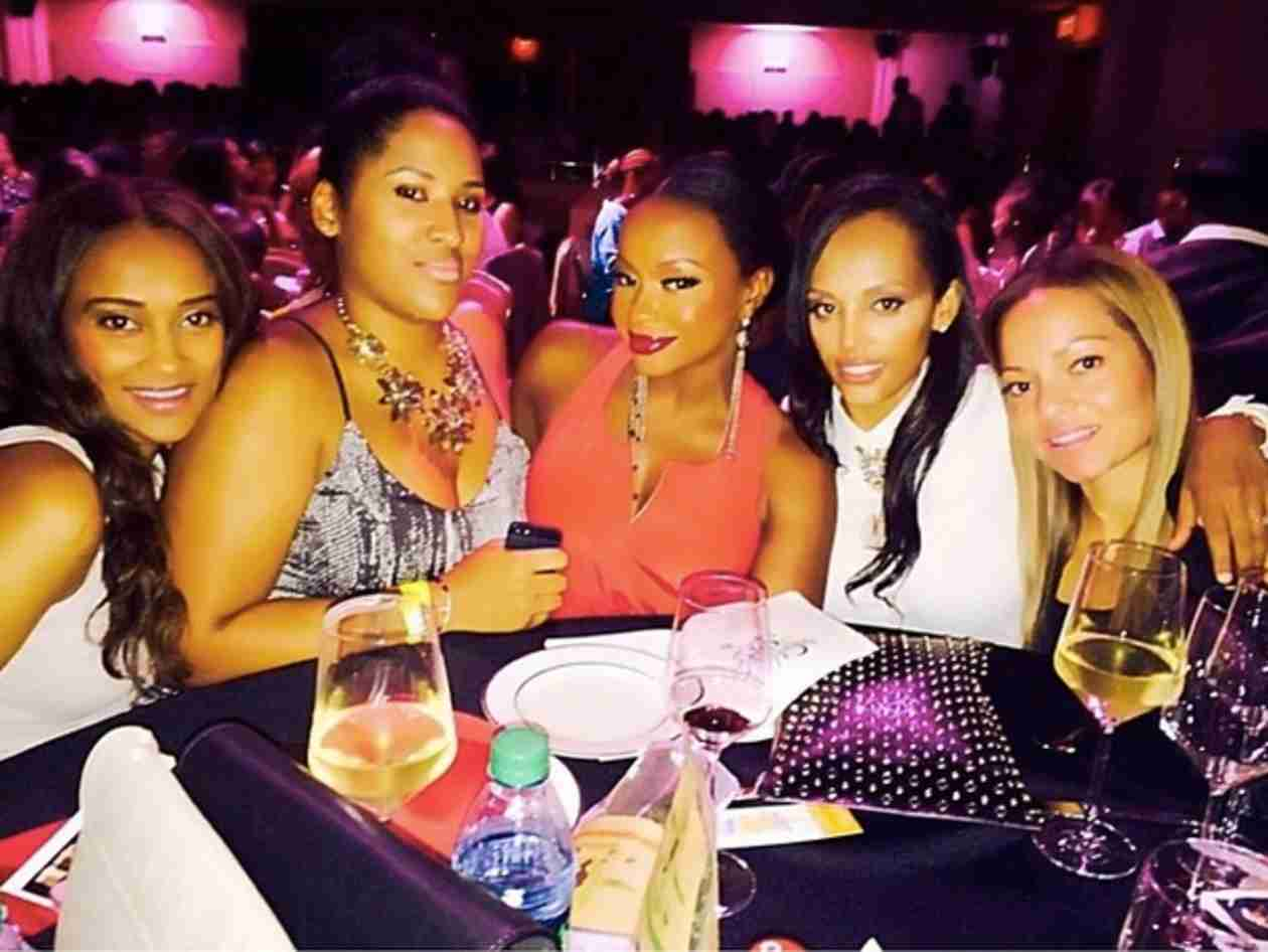Phaedra Parks Has a Girls' Night — No Apollo Nida in Sight!