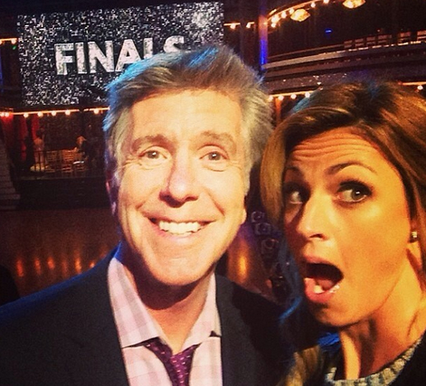 "Erin Andrews Dishes on ""Dirty"" Dancing With the Stars Rehearsals"