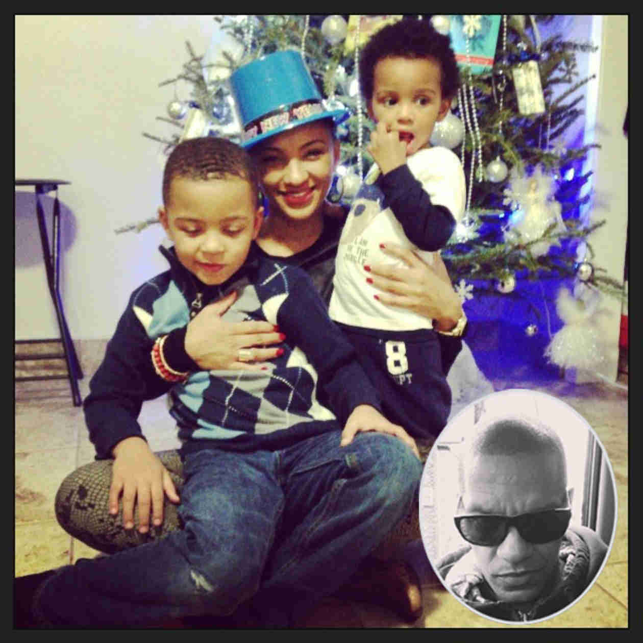 Tara Wallace and Peter Gunz Sons Don't Know Amina Buddafly and Their Baby Sis!