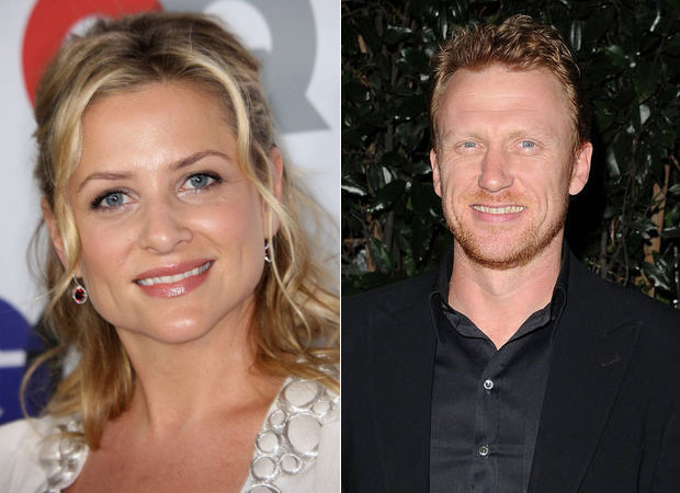 Happy Birthday, Jessica Capshaw and Kevin McKidd — Twice the Birthday Cake on the Grey's Set?