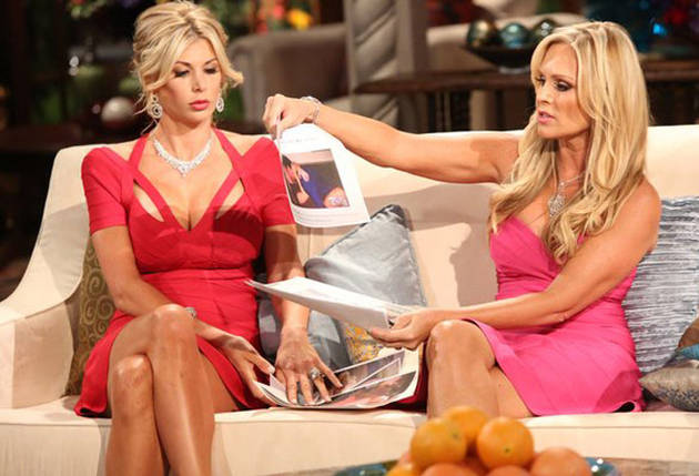 Alexis Bellino Accepts Apology From Tamra Barney…Kind Of