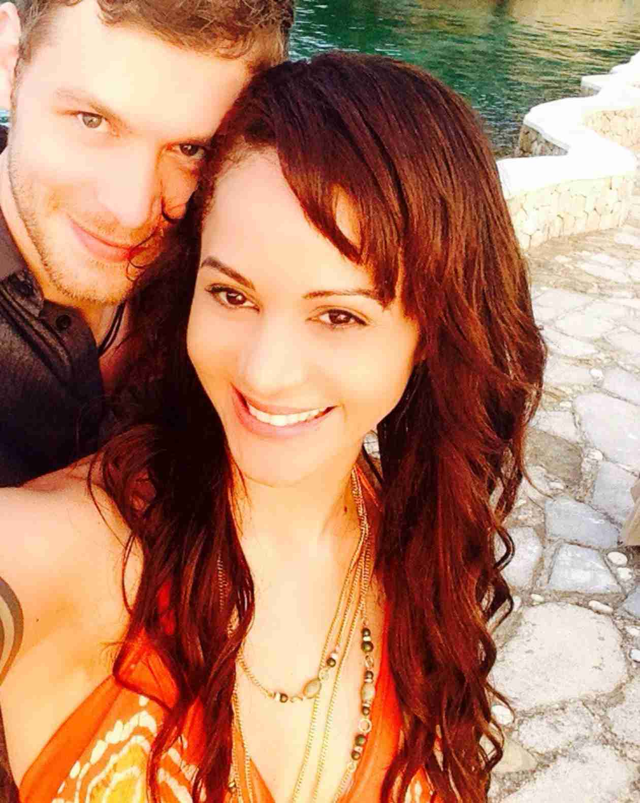 Persia White & Joseph Morgan . A Wedding at the Ian ... |Persia White And Joseph Morgan Wedding