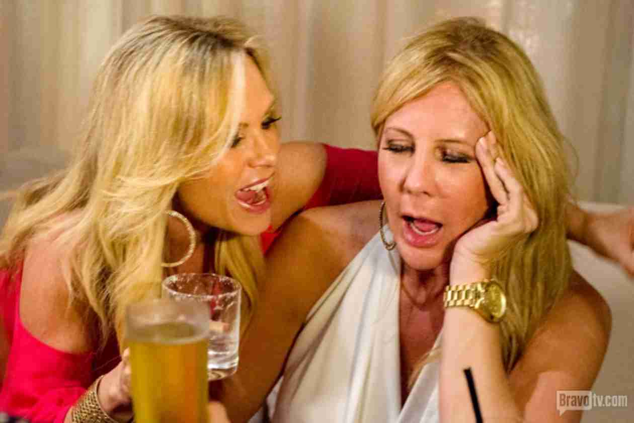 RHOC Season 9 Reunion Sneak Peek: Tamra Screams at Vicki! (VIDEO)