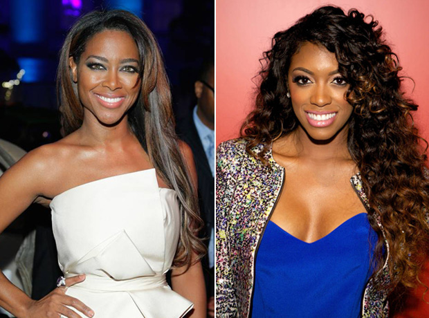 Kenya Moore Doesn't Like That Porsha Stewart Is Joking About Reunion Brawl