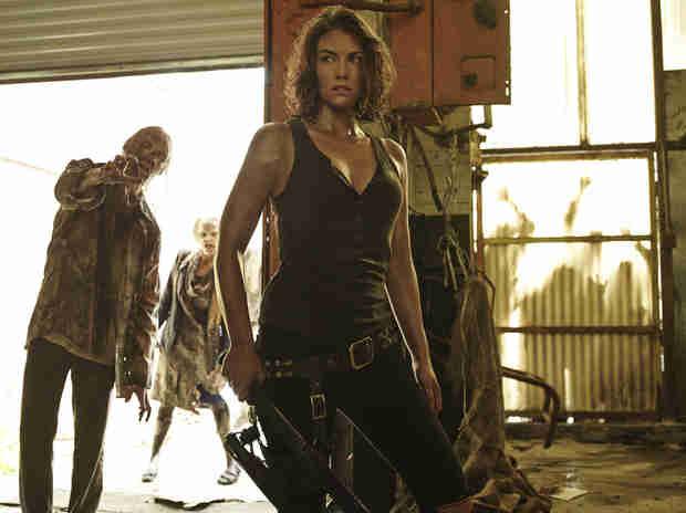 The Walking Dead Season 5 Spoiler: Maggie and Glenn Are in Danger! (PHOTOS)