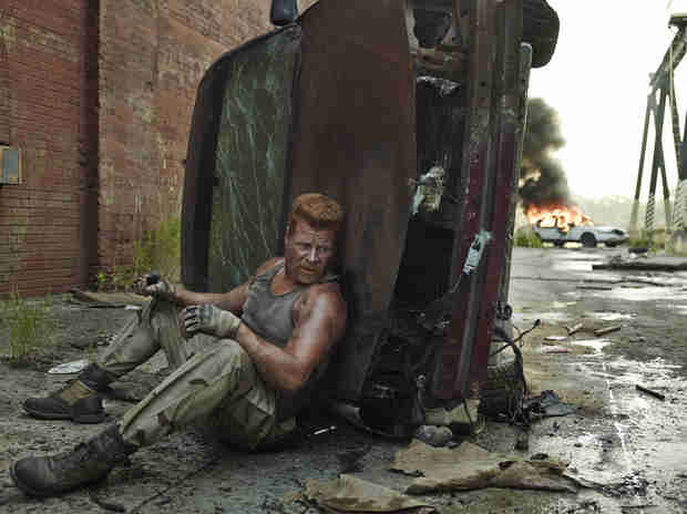 The Walking Dead Season 5: Abraham Ford Is Ready For a Fight (PHOTO)