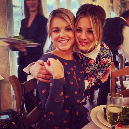 How Are Ali Fedotowsky and Kaley Cuoco Friends?