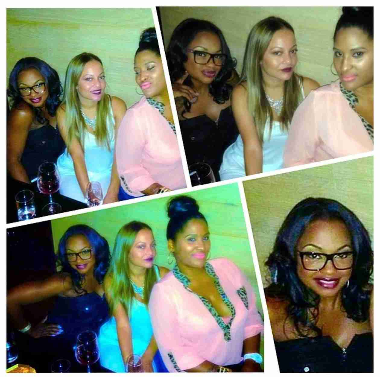 "Phaedra Parks Has ""Funtimes"" With Friends Days Before Apollo Nida Is Expected to Head to Prison (PHOTOS)"