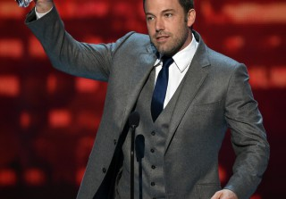 Ben Affleck Shows Up At Comic-Con After Divorce Announcement