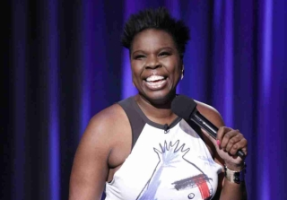 Leslie Jones Jokes About Her Hacking Scandal at Emmys