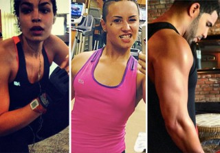 Celebs Who Work Out: Hot Biceps, Abs, and More! (PHOTOS)