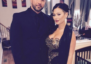 "JWOWW and Roger Debut Matching ""Corny Cute Parents\"