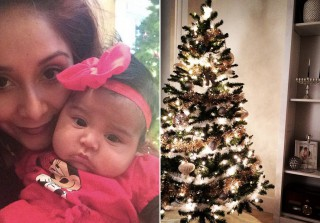 Celebrities Pose With Their Christmas Trees — See the Festive Photos!