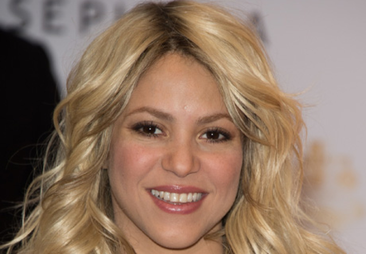 'S By Shakira' Perfume Launch At Sephora Champs Elysees