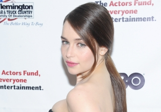 Emilia Clarke Celebrates 30th Birthday… With SpongeBob and Dora? (PHOTO)