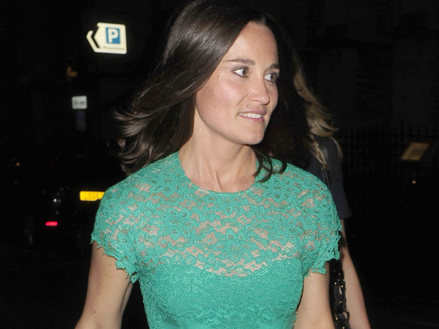Pippa Middleton unleashes her glamorous side - Part 2 **USA ONLY**