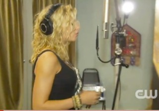 Hellcats Theme Song Recording Session with 78Violet