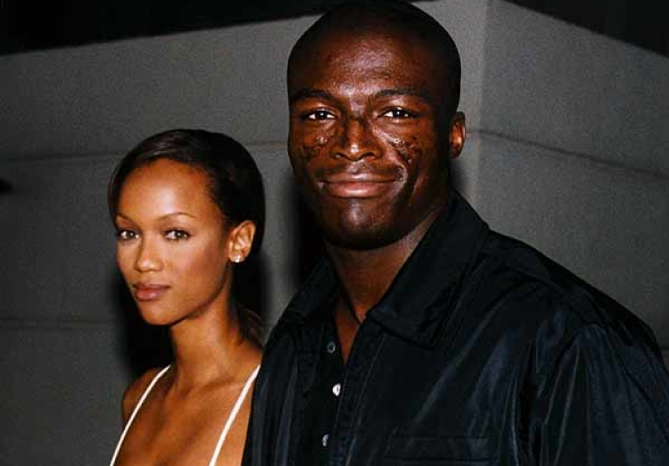 Tyra Banks with Seal
