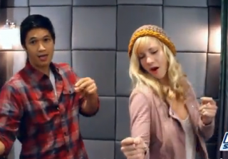 Harry Shum Jr. and Heather Morris Teach Us How to Do the Dougie