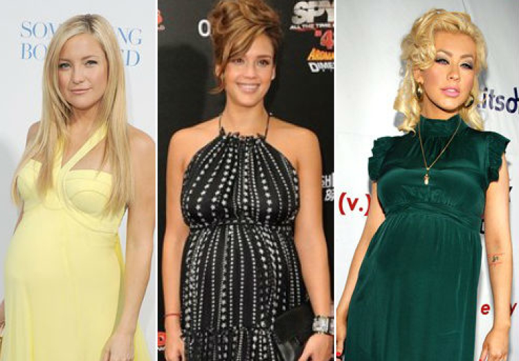 Celebrity Baby Bumps on the Red Carpet