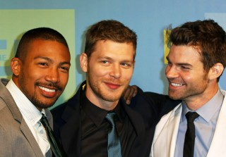 Joseph Morgan Hits Up the 2014 CW Upfronts After Engagement News! (PHOTOS)
