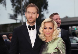 Calvin Harris and Rita Ora Completely Ignored Each Other at the Grammys — Report