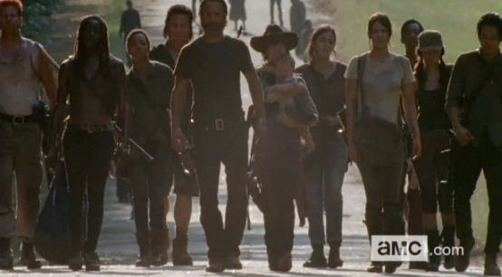 "Walking Dead Season 5 Episode 10 Recap: Aaron Arrives at End of Stormy Road in ""Them"""