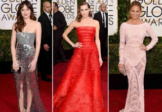 2015 Golden Globes Fashion Trend: Beads and Sparkles Galore! (PHOTOS)