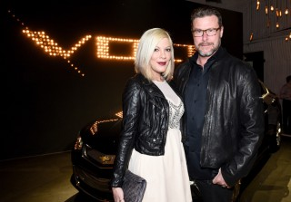 Tori Spelling, Dean McDermott, and More Celebs at the Chevrolet Volt Reveal (PHOTOS)