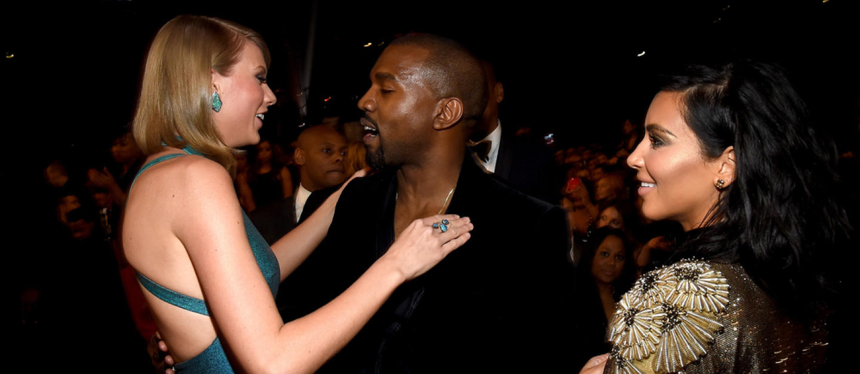 Kanye West, Taylor Swift, Kim Kardashian