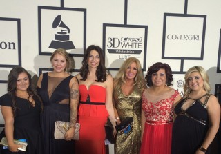 Kailyn Lowry Attends the 2015 Grammys — See the Pic! (PHOTO)