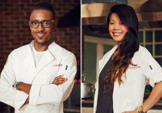 Top Chef Finalists Mei Lin and Gregory Gourdet Look Back at Season 12 — Exclusive