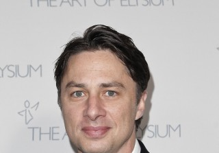 Zach Braff Compares Pharrell to a Monkey Character, Later Apologizes