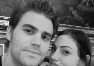 How\'d Phoebe Tonkin Surprise Paul Wesley For Valentine\'s Day? (PHOTO)