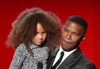 Jamie Foxx's Daughter Annalise Takes Celeb Selfies at the Grammy