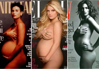 Naked and Pregnant: Stars Who Bared All on Magazine Covers (PHOTOS)