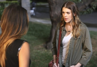 "Paige's Return to 'Pretty Little Liars' ""Causes Tension"" With The Liars"