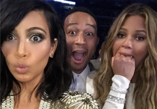 Kim Kardashian, Chrissy Teigen, and John Legend Throw Shade at Beck\'s Grammy Win
