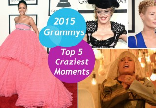 The 2015 Grammys Top 5 Craziest Moments — Rihanna, Iggy, Kristen Wiig, and More! (VIDEO)