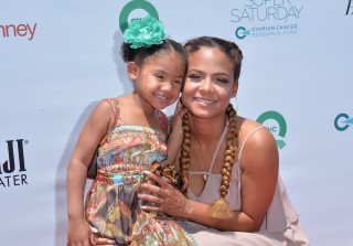 Christina Milian Gets Tamera Mowry Excited About Having a Daughter (VIDEO)