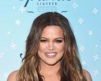 Khloe Kardashian Celebrates Launch Of HPNOTIQ Sparkle